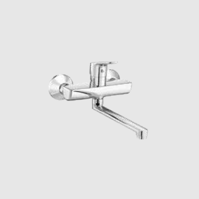 Single lever sink mixer - wall mounted