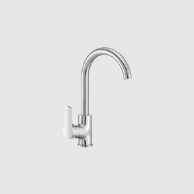 Single lever sink mixer - table mounted