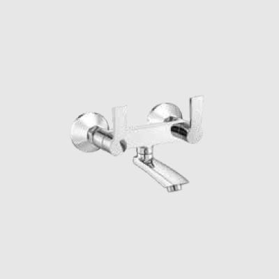 Wall mixer non telephonic shower arrangement