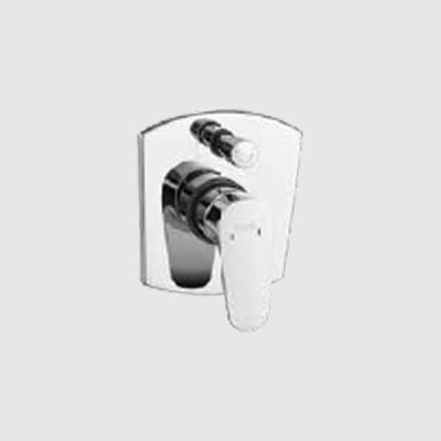 Single lever concealed diverter upper part