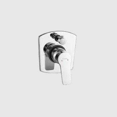 Single lever concealed diverter 3inlet - upper part