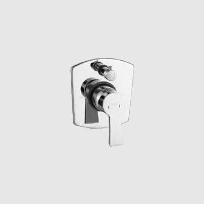 Single lever concealed diverter 3 inlet - upper part
